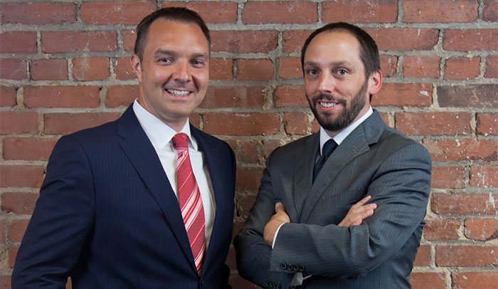 Michael Lovins and Pete Trosclair