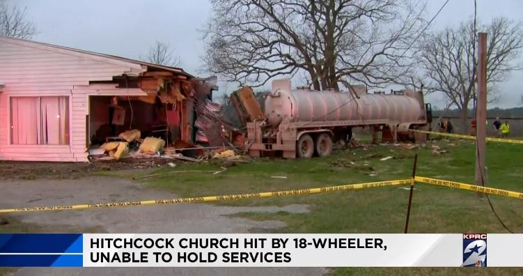 18-Wheeler Tanker Truck Accident