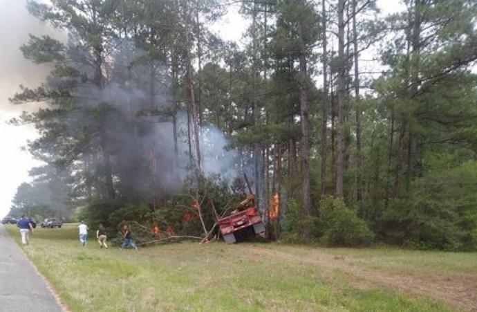 Truck Accident near Vernon Parish