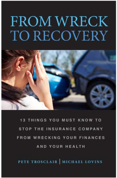 From Wreck to Recovery Book